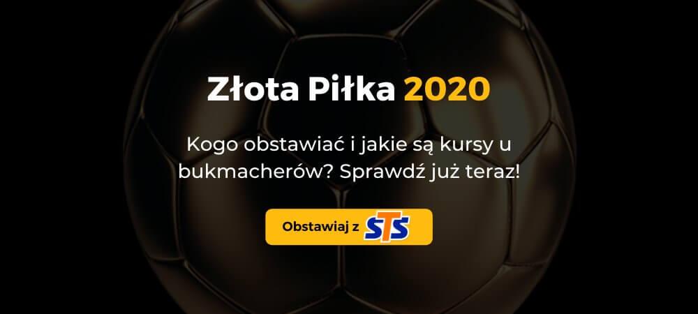Zakłady Bukmacherskie na Złotą Piłkę 2020