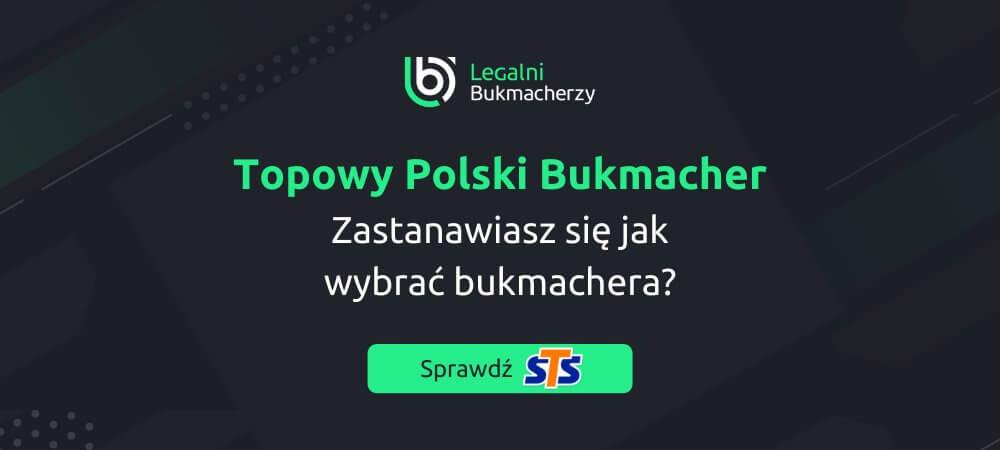 Jaki jest najlepszy polski bukmacher online sts