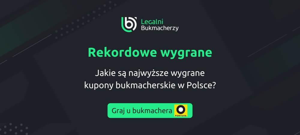 Najwyższe Wygrane u Bukmachera