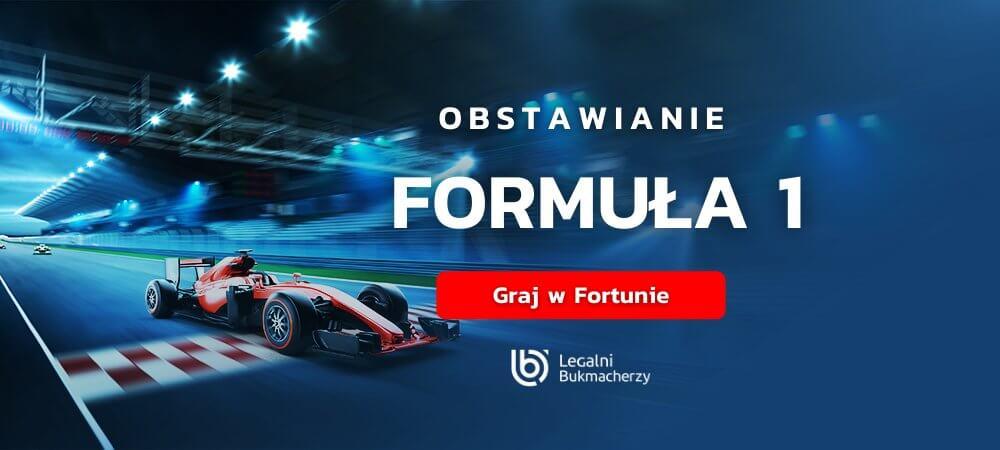 Formula 1 zaklady bukmacherskie online