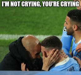Not crying memes